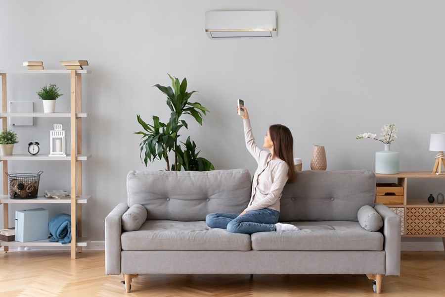 An Air Source Heat Pump - IMAGES COURTESY OF CENTRAL HUDSON