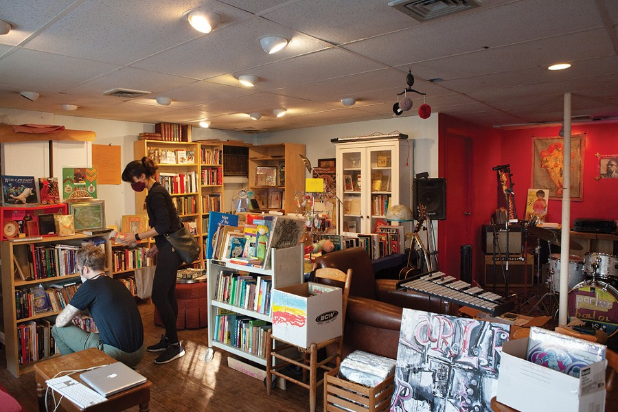 Parlor is a new bookshop and gathering place on South Chestnut Street.