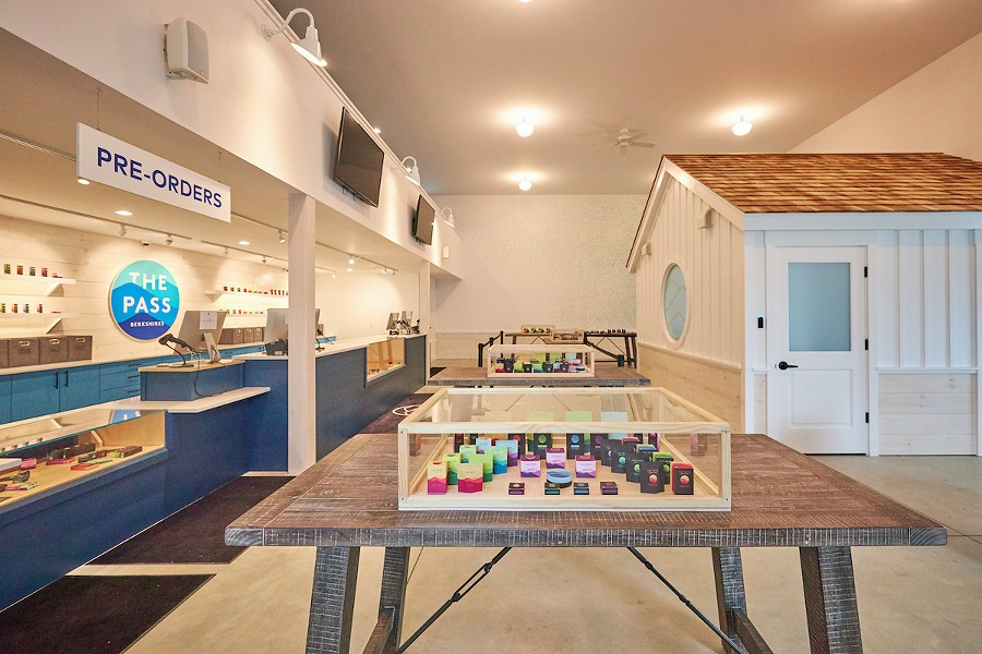 The interior of The Pass's retail space - ALL IMAGES COURTESY OF THE PASS