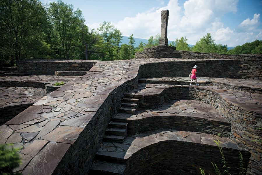 Opus 40 in Saugerties - CHRISTINE ASHBURN