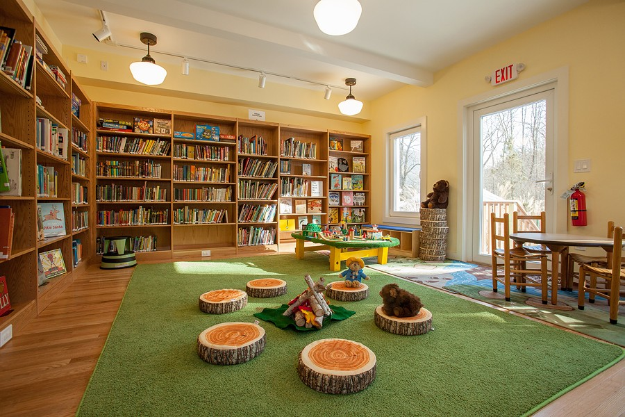 The new Children's Room at the Phoenicia Library - CAROL SEITZ