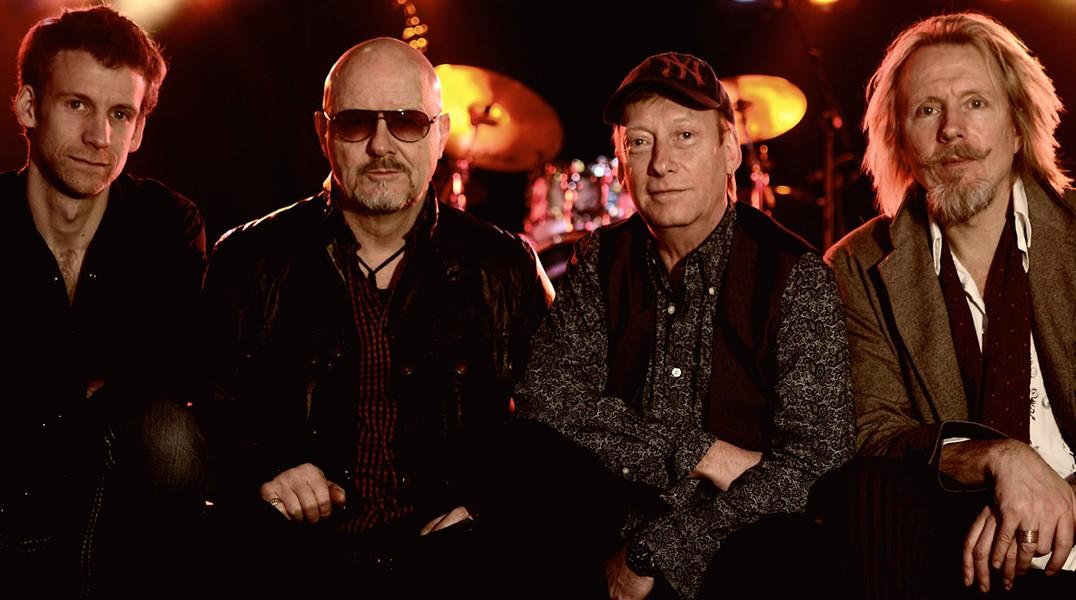 Wishbone Ash plays Daryl's House on September 29.