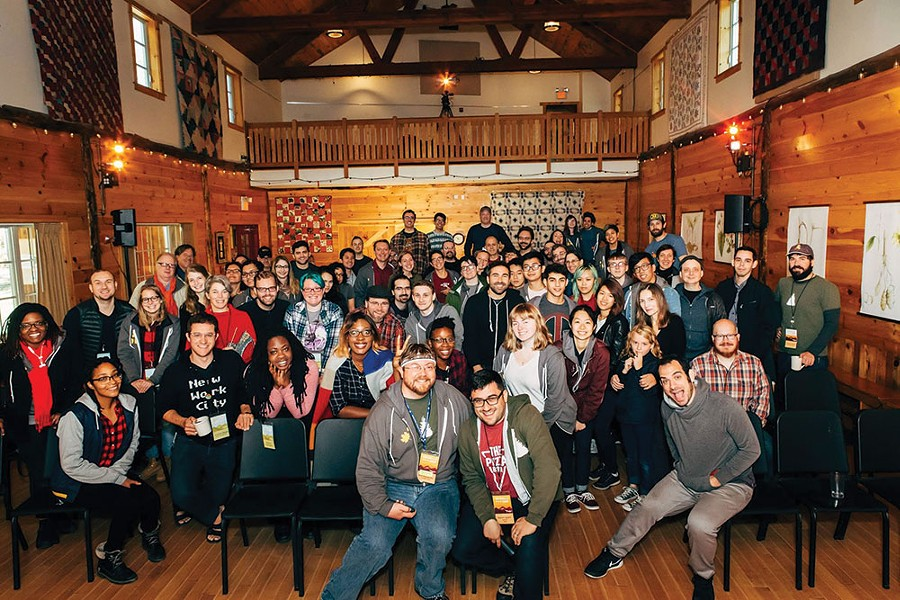 Attendees at the 2016 Catskills Conf. - TOM EBERHARDT-SMITH