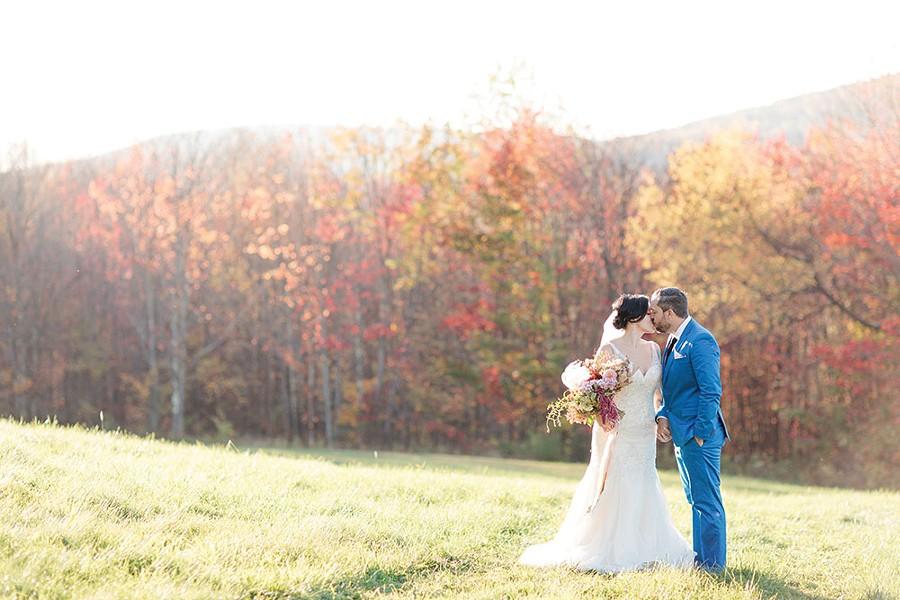 Shellie Schoellkopf and Robert Callaway at the Catskill - Mountain House in Roxbury on October 1. - MEKINA SAYLOR