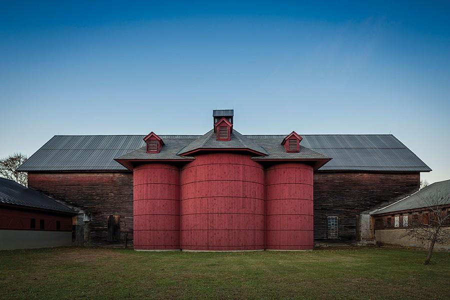 The Environmental Cooperative at the Vassar Barns. - RICHARD SMITH