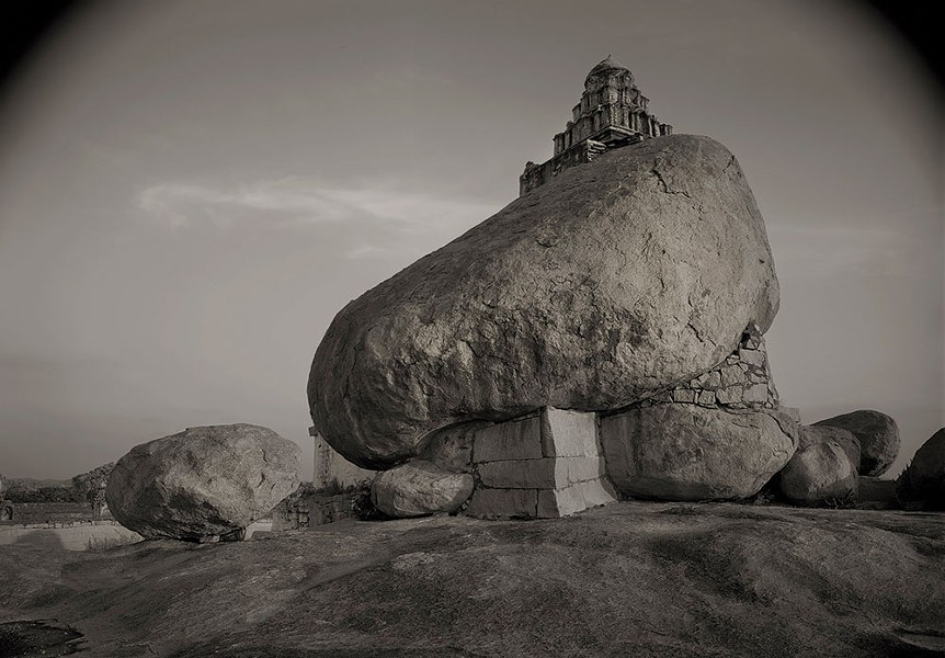 "Kenro Izu, Hampi No. 15, India, 1996, from the series ""Sacred Places"""