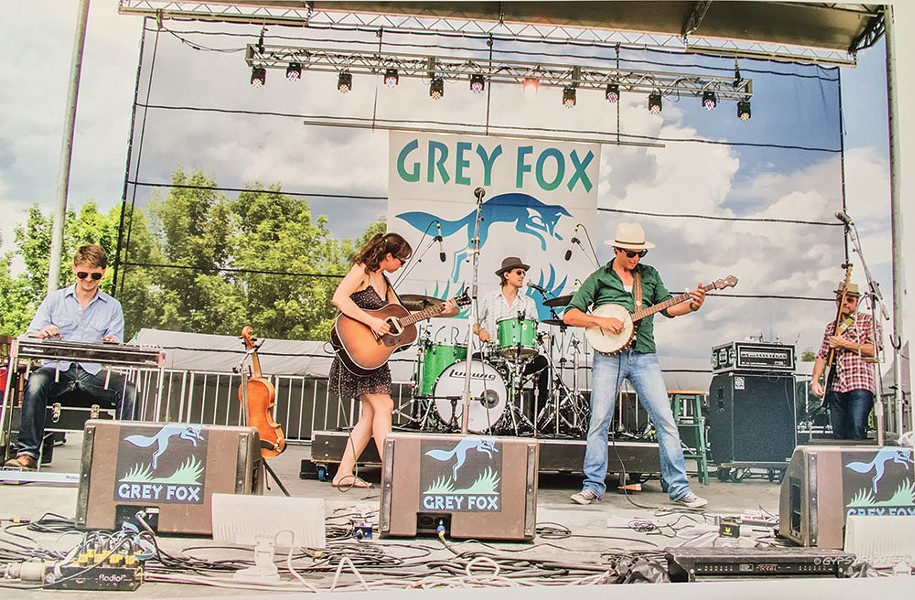 The Mammals performing at the Grey Fox Folk Festival in 2016. - DAVE LEE AKA GYPSYSHOOTER.