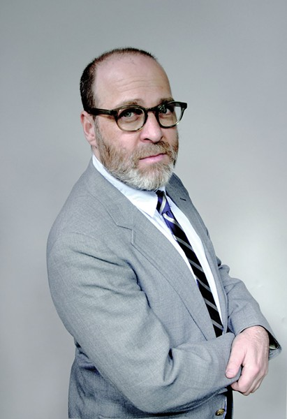 H. Jon Benjamin speaks and signs books at the Fisher Center on May 2.