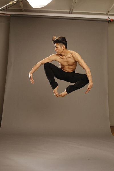 Gen Hashimoto of Jennifer Muller/The Works. The company will perform at Kaatsbaan on May 26. - CAROL ROSEGG