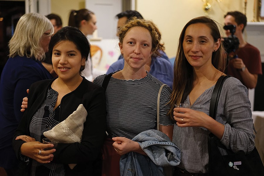 Nina Barry, Rachel Yeager, and Stephanie Fisher-Meyer of Limetta Studio. - JOHN GARAY