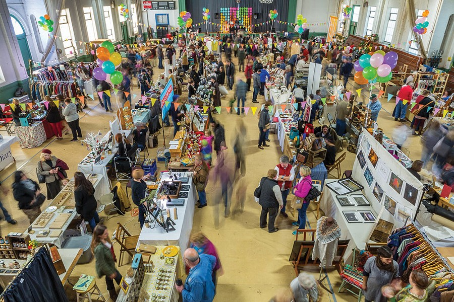 The Hudson Valley Hullabaloo gathers makers from around the region in Kingston in June.