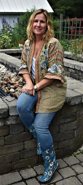 Horticultural therapist Mariann Durkin. - LARRY DECKER