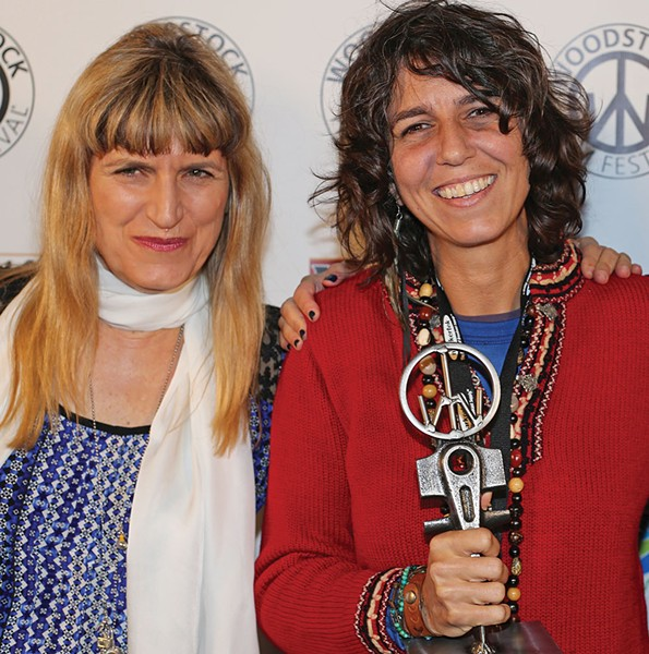 Catherine Hardwicke and Maria Govan