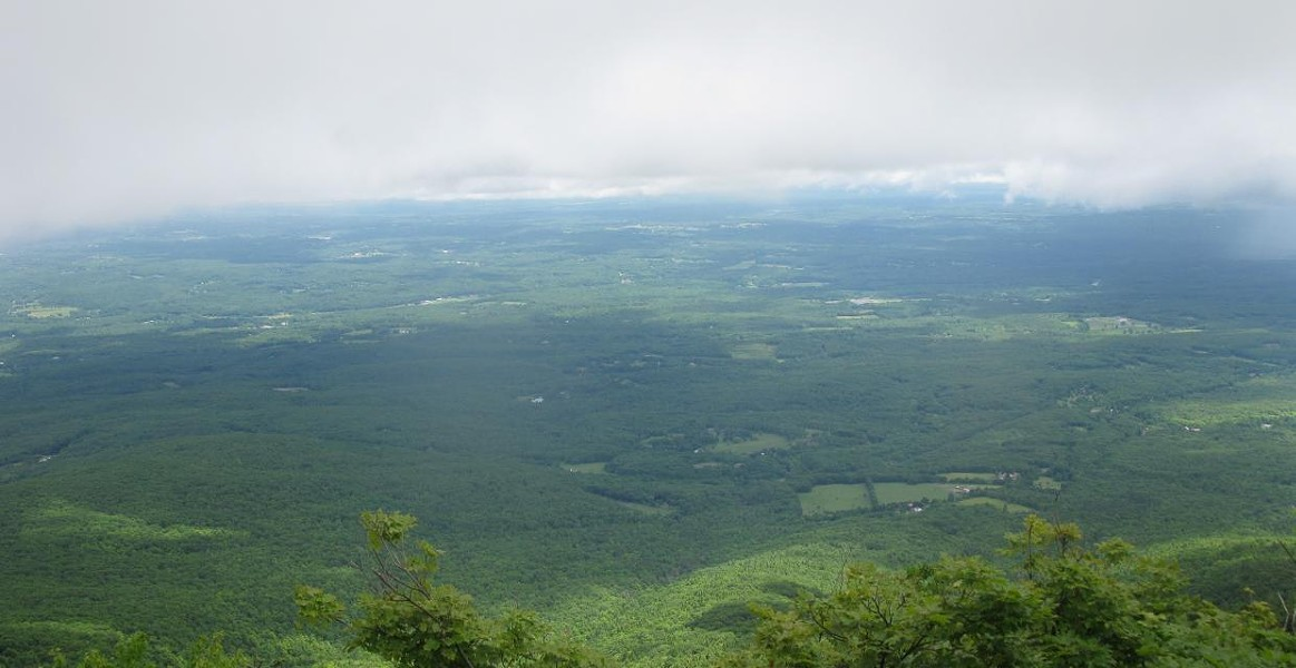 The view from Windham High Peak.