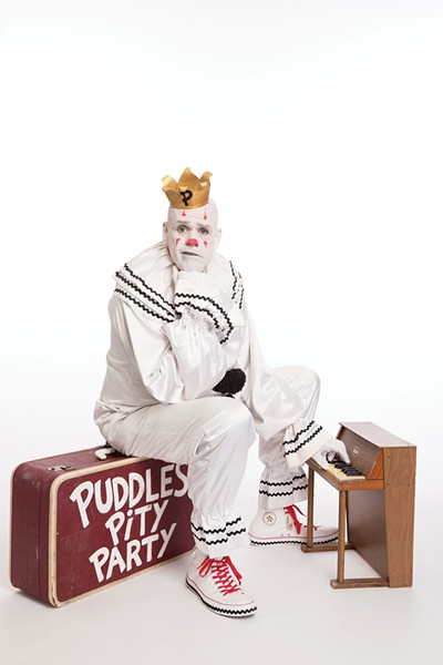 Puddles Pity Party plays Bardavon in Poughkeepsie on Sunday, November 18 at 7pm.