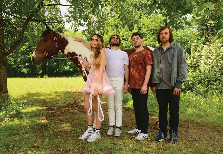 Speedy Ortiz brings the shoegaze to Colony on December 2.