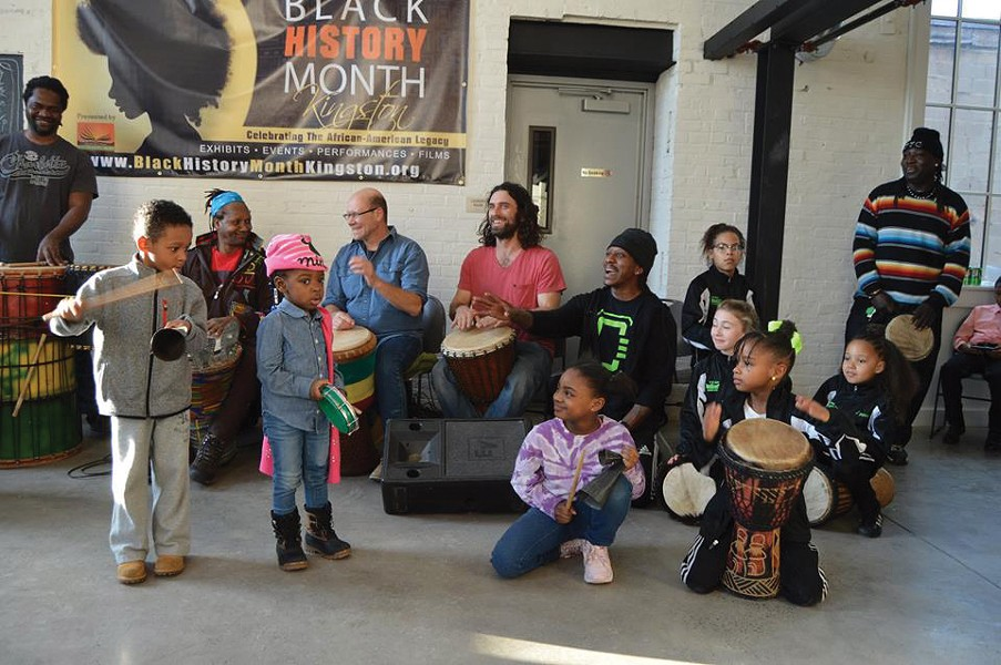 The 2018 Black History Month kick-off event at the Lace Mill in Kingston.