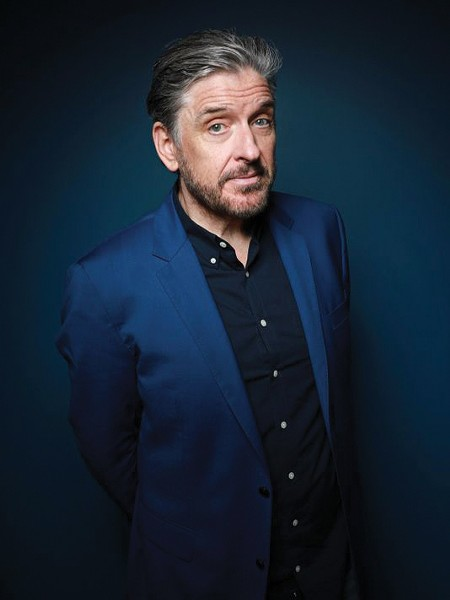 Craig Ferguson reads at Bard College on May 8.