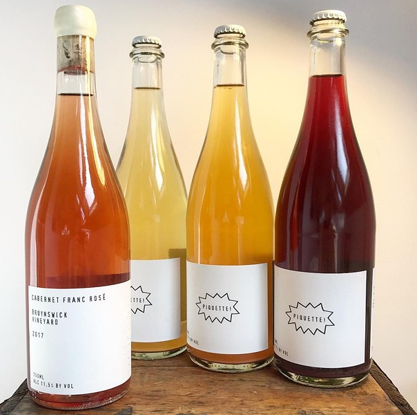 Biodynamic natural wines from Wild Arc Farm in Pine Bush, NY