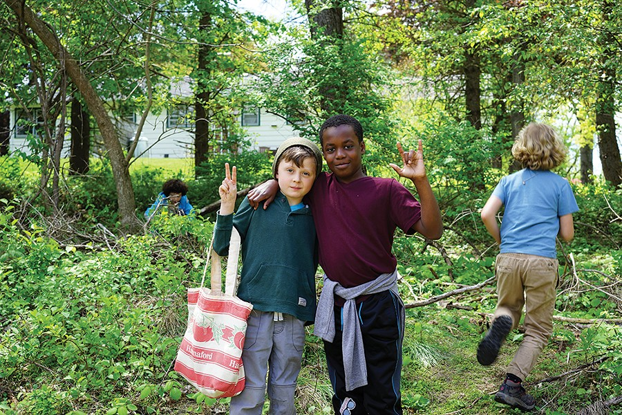 Students at Primrose Hill School in Rhinebeck. - PHOTO: JOHN GARAY