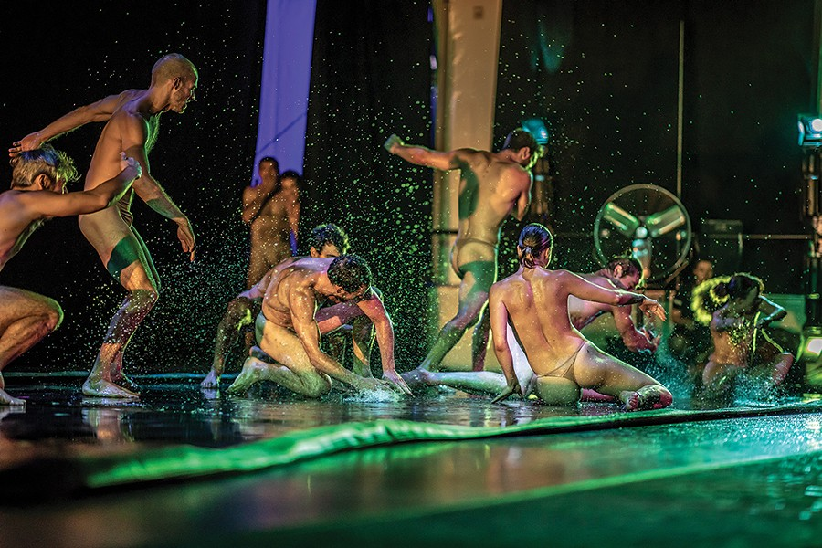 Pilobolus at the Five Senses Festival. - PHOTO: BRIGID PIERCE