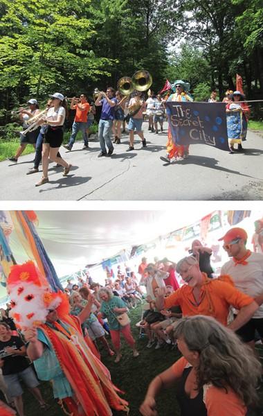 The Secret City Art Revival returns to Woodstock July 25-28.
