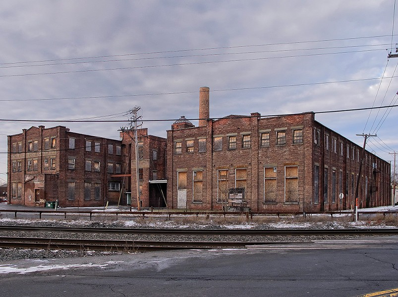 The Lace Mill in Midtown Kingston sat vacant for years before RUPCO transformed it into a complex of affordable artist housing and gallery space. - PHOTO: DAVID MILLER