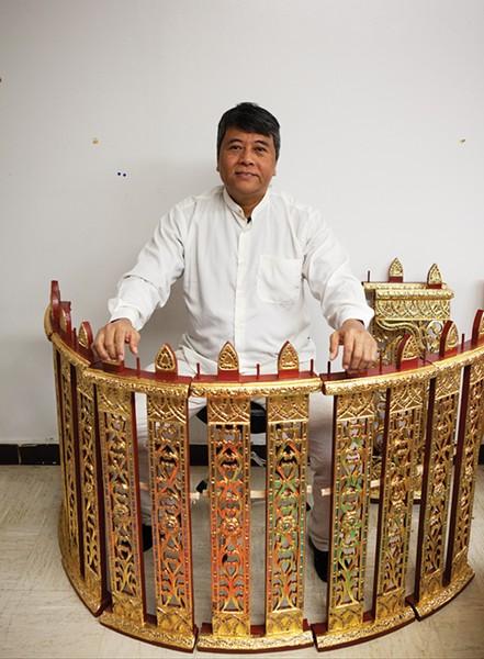 Kyaw Kyaw Naing - PHOTO: FIONN REILLY