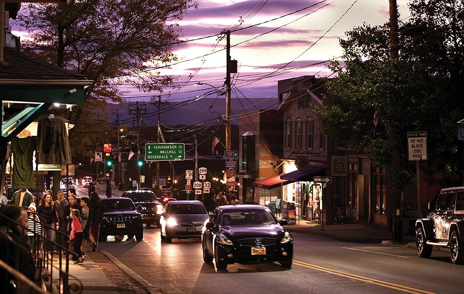 Main Street at dusk. - PHOTO: ROY GUMPEL