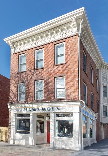 The historic building housing Mama Roux - PHOTO: ANN STRATTON