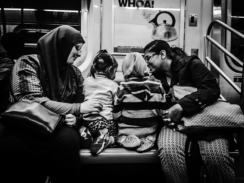 "PHOTOGRAPH FROM ""SUBWAY STORIES"""