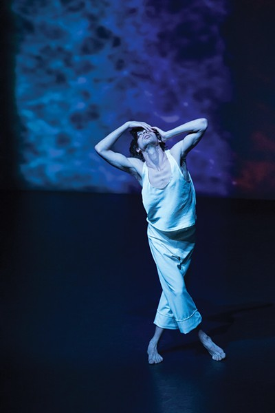 """ZviDance performs """"Maim"""" in Tannersville this month."""