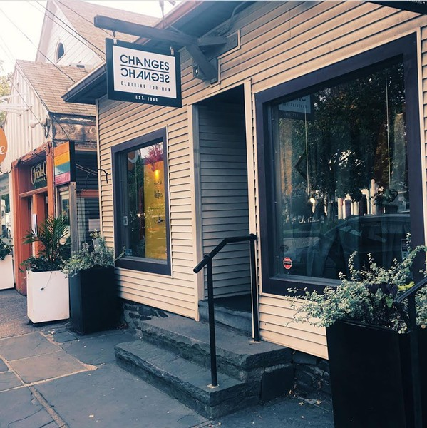Changes Boutique offers menswear that balances style and comfort.