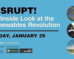 Chronogram Conversation Recap: Disrupt! The Renewables Revolution
