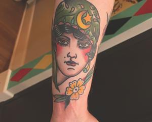 Fortune Teller Tattoo by Adam Lauricella