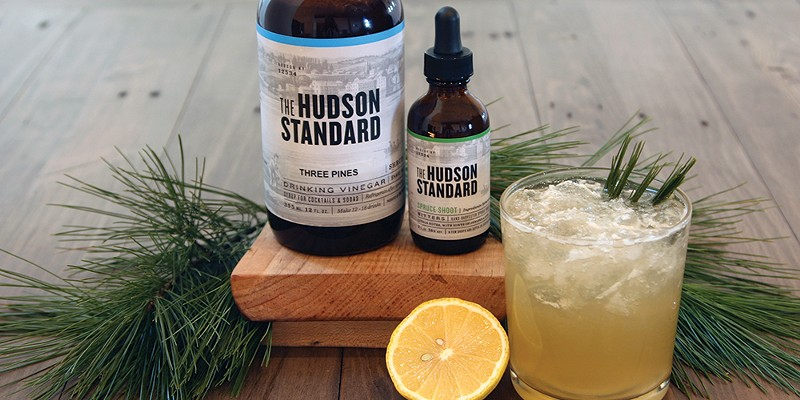 The Hudson Standard's Evergreen Cocktail