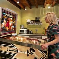 Home Is Where the Art Is Janet playing pinball Deborah DeGraffenreid