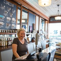 Creative Neighbors Bluestone Coffee in Saugerties Christine Ashburn