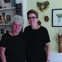 Both Sides Now: Catskill & Hudson Dina Bursztyn & Julie Chase at Open Studio in Catskill Jesse Turnquist