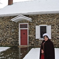 Newburgh & Cornwall: A Riverfront with Two Faces Karen Monti at Washington's Headquarters State Historic Site in Newburgh John Garay