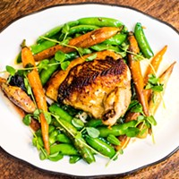 The Dutch Ale House Pan Roasted Chicken Simply Steph Photograph