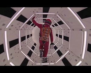 A still from 2001: A Space Odyssey.