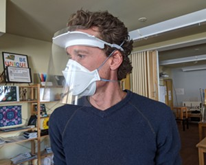 SUNY New Paltz Uses 3D Printers to Produce Face Shields for Medical Workers