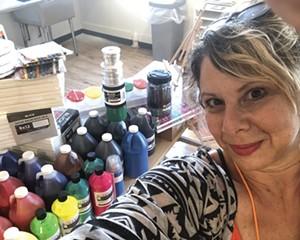 Supportive Arts Instructor Jillian Rahm.