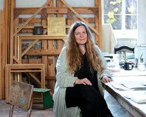 Julie Hedrick, Kingston Distinguished Artist Awardee and Kingston Annual 2020 curator.