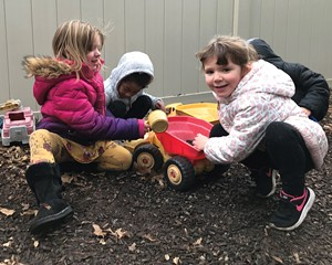 Children at play at the YWCA of Ulster County in Kingston.