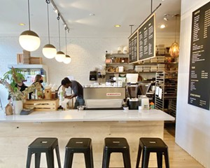 """Kitchen & Coffee in Beacon. """"Paying fair wages and treating staff fairly builds loyalty,"""" says cofounder Ben Giardullo"""