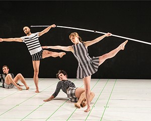 """""""Within between,"""" choreographed by John Jasperse and dancers"""
