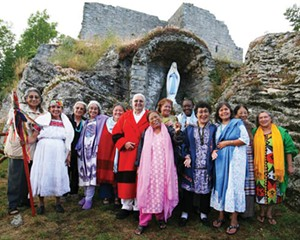 International Council of 13 Indigenous Grandmothers in Assisi, Italy.