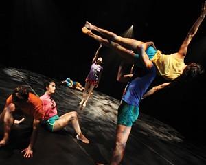 Dusan Tynek Dance Theatre performs at Kaatsbaan November 19
